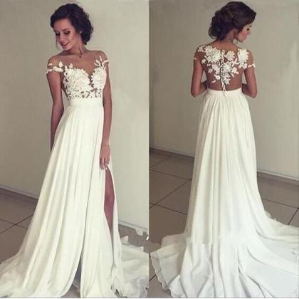 Charming Prom Dress,Sexy Backless P..