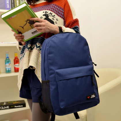 Fashion Canvas Backpack Bags, SImpl..