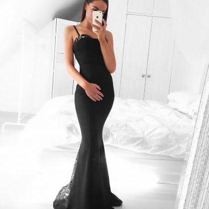 Mermaid Prom Dress,Beaded Prom Dres..