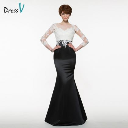 Prom Dresses,black mermaid mother o..