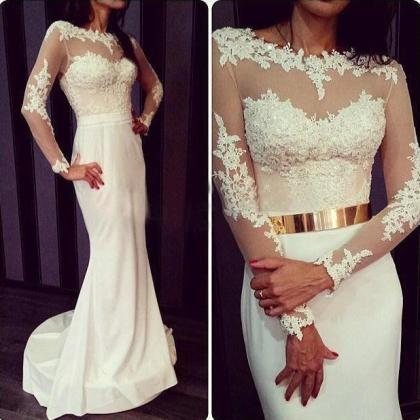 Lace Prom Dress,Sexy Dress For Prom..