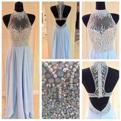 Long prom dress, junior prom dress,..