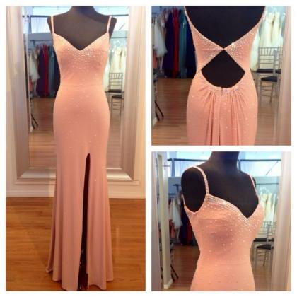 Charming Prom Dresses,Satin Prom Dr..