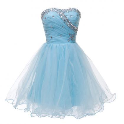Sweetheart Ball Gown Homecoming Dre..
