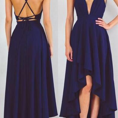 Charming Prom Dress,Sleeveless Prom..
