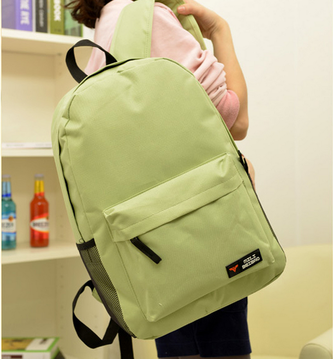 Fashion Backpack Bags, SImple Large Capacity Leisure Canvas Backpack