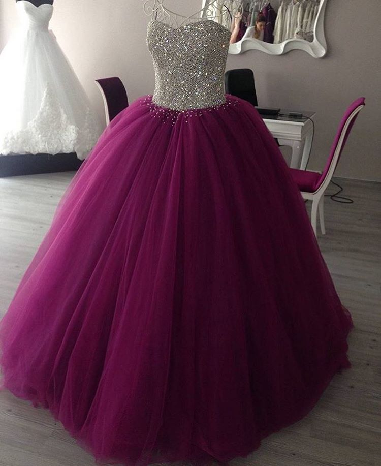 ebb09e202c23 Prom Dress Ball Gown, Purple Princess Ball Gowns ,Sweet 16 Dresses, Quinceanera  Dresses