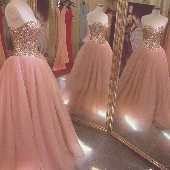 b1439a167360 Blush Pink Prom Dresses,Ball Gown Prom Dress,Tulle Prom Dress,Simple Prom  Dress,Tulle Prom Dress,Simple Evening Gowns,Cheap Party Dress,Elegant Prom  Dresses ...
