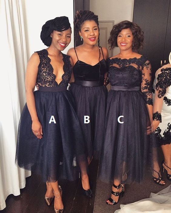 Navy Blue Bridesmaid Dresses Short Bridesmaid Dress Mismatched Bridesmaid Dress Tulle Bridesmaid Dress Bridesmaid Dresses
