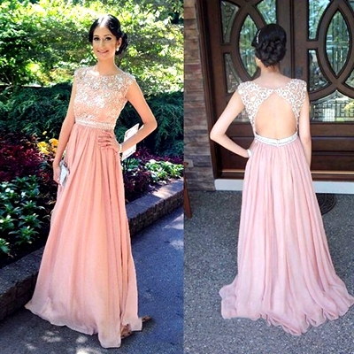 Simple Evening Gowns Dress