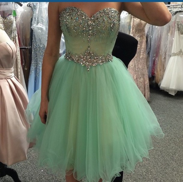 e08b36ae4f Sweetheart Beaded Homecoming Dress