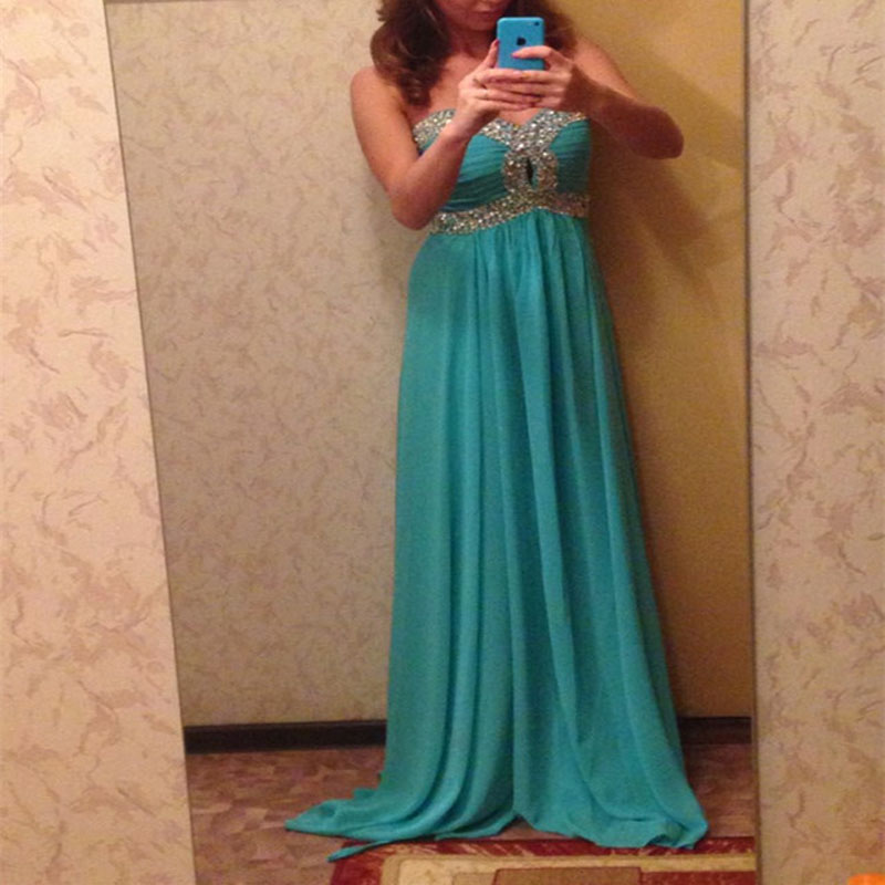 Sexy A-line Green Prom Dress,Sweetheart Women Dresses,Long Prom Dresses , Prom Dresses with Beading