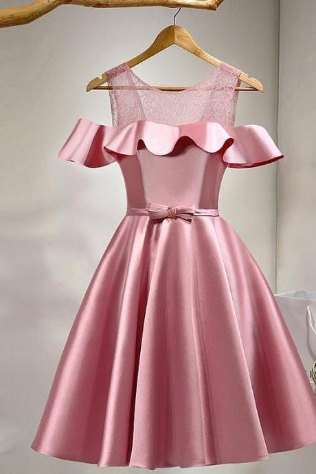 Pink Homecoming Dresses,Short Prom Dresses,Cocktail Dress,Homecoming Dress,Graduation Dress,Party Dress,Short Homecoming Dress