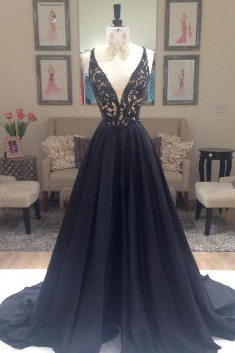Black Formal Dresses,Backless Prom Dress,Sexy Prom Dress,Simple Prom Dresses,Formal Gown,Evening Gowns,Beaded Party Dress,Prom Gown For Teens