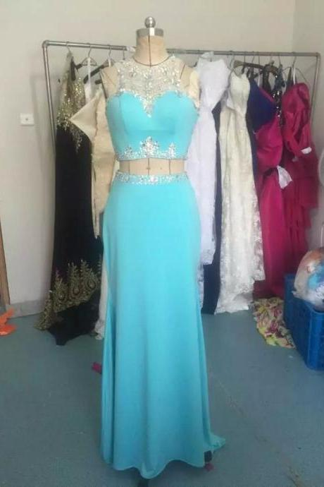 2 piece prom dresses,prom dresses,light blue prom dresses,Mermaid Prom Dresses,chiffon prom dresses,sexy prom dresses,Dresses For Prom , sexy prom dresses,dresses party evening,sexy evening gowns,formal dresses evening,elegant long evening dresses