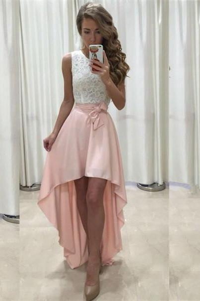 High Low Homecoming Party Dress