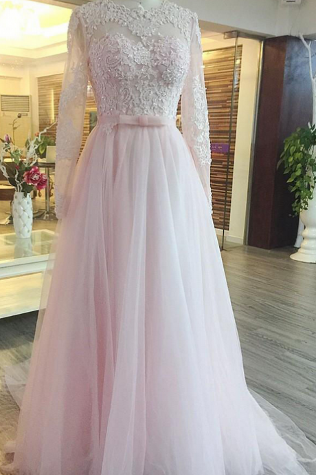 Floor Length Prom Dress, Elegant Prom Dresses, A-line Prom Dress, Sexy Prom Dress