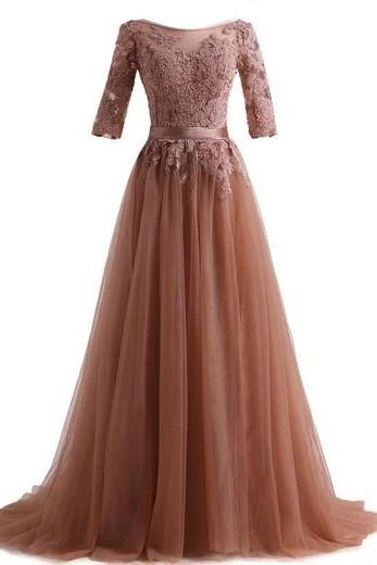 Lace Charming Prom Dress,Long Prom Dresses,Prom Dresses,Evening Dress, Prom Gowns, Formal Women Dress