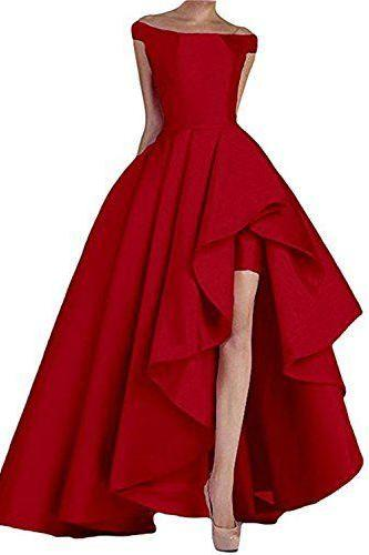 Red Floor Length Long Evening Dresses ,Sexy Evening Dress,Ball Gowns
