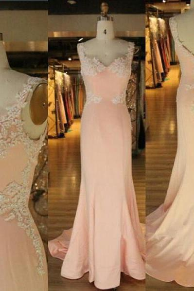 Prom Dress,Sexy Elegant Prom Dresses,Evening Dress,New Arrival Prom Dress,Modest Prom Dress,Pink Sweetheart Prom Dress,Mermaid Prom Dress,Evening Dress,Straps Prom Dress,Lace Applique Prom Dress,Party Dresses,Cheap Prom Dress,Formal Dress, Sexy Gril Dress, Floor-Length Prom Dresses, Evening Dresses, Custom Dress