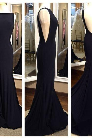 Simple Long Mermaid Prom Dresses,Backless Modest Prom Gowns,Charming Evening Dresses,Pretty Party Dresses,Real Sexy Blace Cheap Party Prom Dresses,Cheap Prom Dress,Formal Dress, Sexy Gril Dress, Floor-Length Prom Dresses, Evening Dresses, Custom Dress