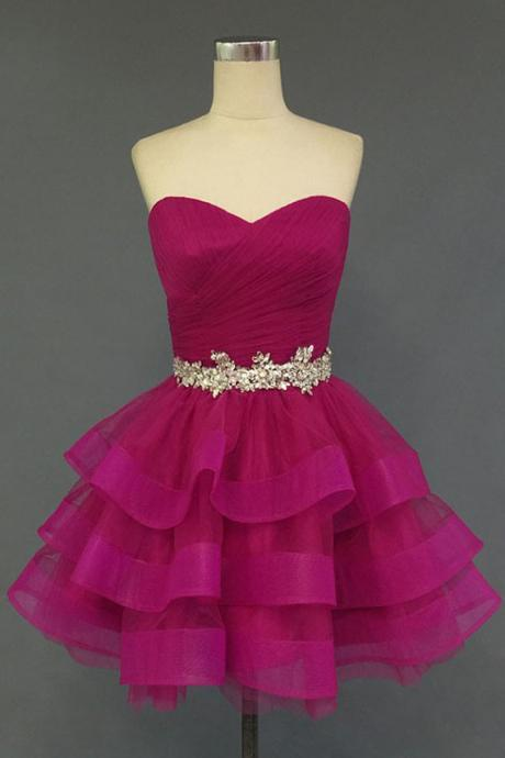 Homecoming Dress,Sexy Elegant Charming Homecoming Dress,Organza Homecoming Dress,Sweetheart Homecoming Dress, Short Noble Homecoming Dress,Cheap Prom Dress,Formal Dress, Sexy Gril Dress,Short Prom Dresses, Evening Dresses, Custom Dress