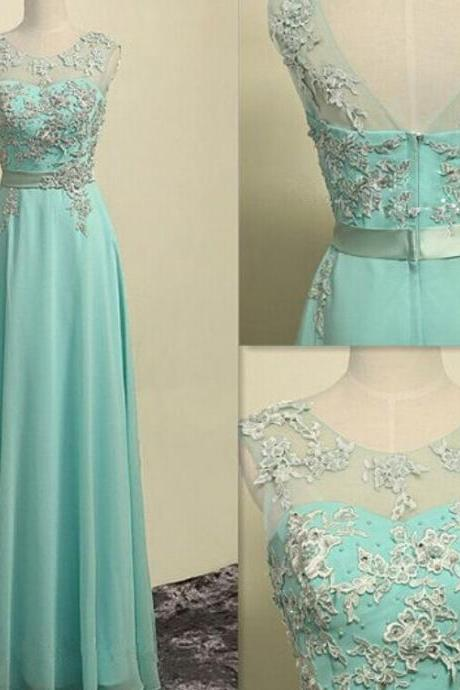 Charming Prom Dress,O-Neck Prom Dress,A-Line Prom Dress,Appliques Prom Dress,Chiffon Prom Dress,Graduation Dress,Chiffon Prom Dress,Cheap Prom Dress,Formal Dress, Sexy Gril Dress, Floor-Length Prom Dresses, Evening Dresses, Custom Dress