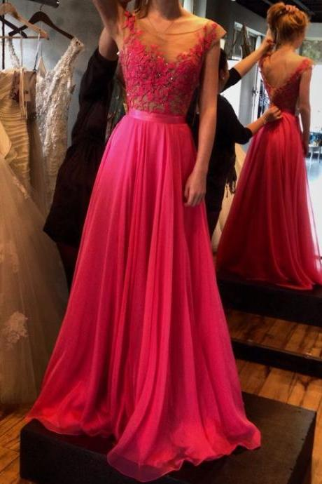 Prom Dress,Sexy Elegant Charming Prom Dress,Appliques Prom Dress,A-Line Prom Dress,Chiffon Prom Dress,Long Prom Dress ,Cheap Prom Dress,Formal Dress, Sexy Gril Dress, Floor-Length Prom Dresses, Evening Dresses, Custom Dress