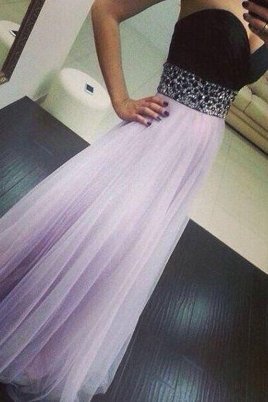 Black Prom Dress, Sweet Heart Prom Dress, Lilac Prom Dress, Floor-Length Prom Dress, Evening Dress, Modest Prom Dress,Cheap Prom Dress,Formal Dress, Sexy Gril Dress, Floor-Length Prom Dresses, Evening Dresses, Custom Dress