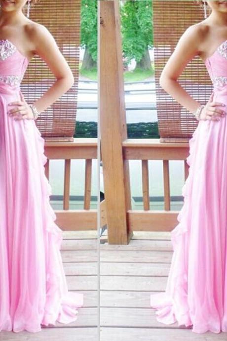 Prom Dress,Sexy Elegant Custom Made Prom Dress,Sequin Prom Dress,Pink Prom Dress,Pretty Prom Dress,Elegant Prom Dress,Long Prom Dress,Chiffon Prom Dress,Popular Prom Dress,Cheap Prom Dress,Formal Dress, Sexy Gril Dress, Floor-Length Prom Dresses, Evening Dresses, Custom Dress