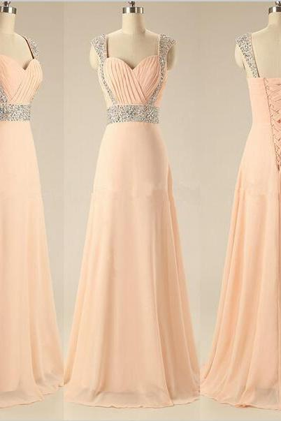 Prom Dress,Sexy Elegant Cap Sleeve Evening Dress,Sexy Evening Dresses,Chiffon Prom Dress,Long Prom Dress,Formal Dress,Cheap Prom Dress,Formal Dress, Sexy Gril Dress, Floor-Length Prom Dresses, Evening Dresses, Custom Dress