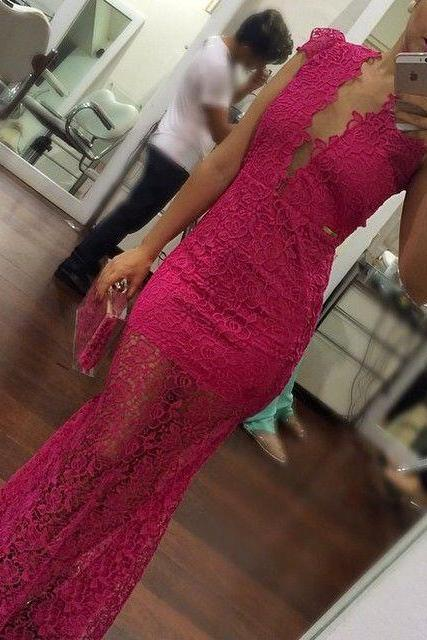 Sexy Prom Dress,Mermad Lace Evening Dresses,Red Formal Dress,Long Prom Dress,Women Dress,Cheap Prom Dress,Formal Dress, Sexy Gril Dress, Floor-Length Prom Dresses, Evening Dresses, Custom Dress