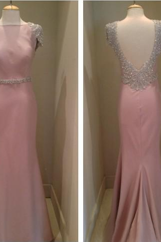 Prom Dress,Sexy Prom Dresses,Cap Sleeve Beaded Evening Dress,Mermaid Evening Gown,Cheap Prom Dress,Formal Dress, Sexy Gril Dress, Floor-Length Prom Dresses, Evening Dresses, Custom Dress