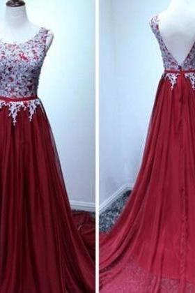 Prom Dress,Sexy Prom Dresses,Chiffon Evening Dresses,Long Formal Dress,Backless Appliques Prom Dress,Long Prom Dresses,Cheap Prom Dress,Formal Dress, Sexy Gril Dress, Floor-Length Prom Dresses, Evening Dresses, Custom Dress