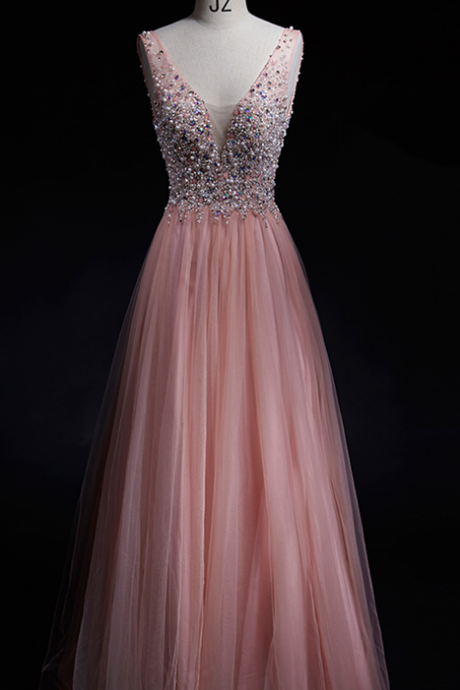 Blush Pink Prom Dress,A-Line Prom Dress,Simple Prom Dress,Chiffon Prom Dress,Simple Evening Gowns,Cheap Party Dress,Elegant Prom Dresses,Formal Gowns For Teens