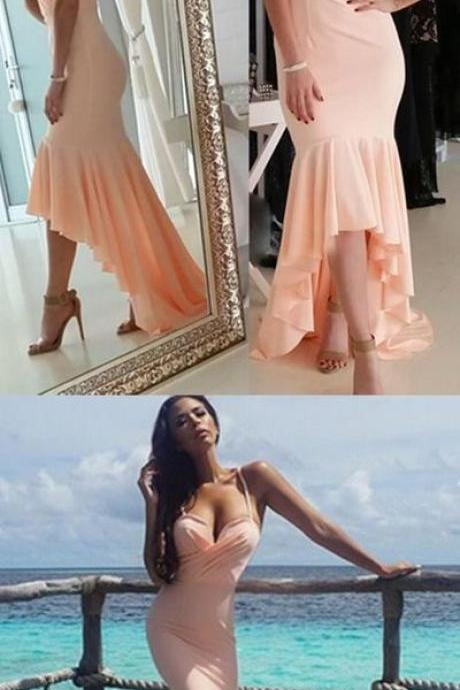 Prom Dress, Spaghetti Straps Prom Dress,Mermaid Prom Dress,Sexy Prom Dress,Evening Dress ,High Quality Graduation Dresses,Wedding Guest Prom Gowns, Formal Occasion Dresses,Formal Dress