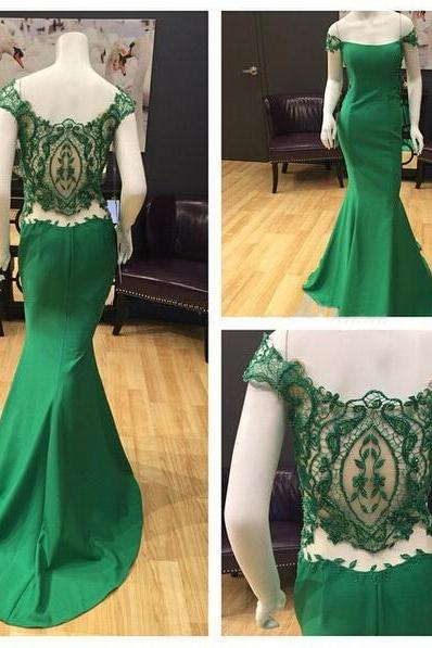 Applique Prom Dress,Off the Shoulder Prom Dress,Mermaid Prom Dress,Fashion Prom Dress,Sexy Party Dress, New Evening Dress