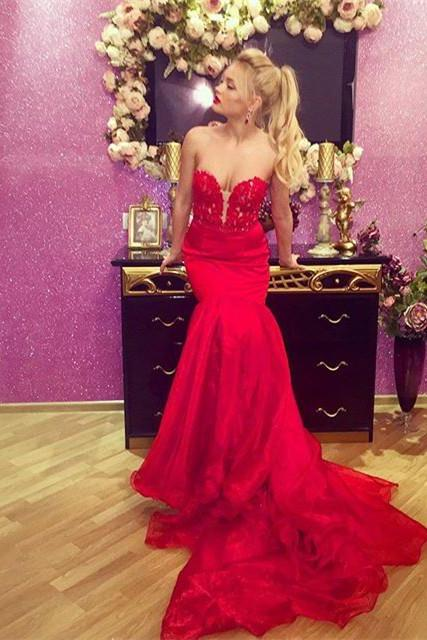 Red Prom Dress,Prom Dresses,Red Prom Gown,Prom Gowns,Elegant Evening Dress,Modest Evening Gowns,Simple Party Gowns