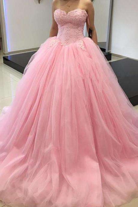 Ball Gown Sexy Wedding Dress,Long tulle Wedding Dresses,Wedding Dresses,Bridal Dress, Prom Gowns, Formal Women Dress,prom dress