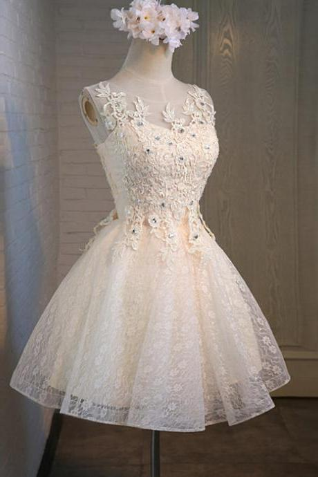 Graduation Dress,Pretty Graduation Dresses,Lace Graduation Dresses,Cheap Graduation Dresses,Beaded Graduation Dress,Homecoming Dresses,Short Graduation Dresses,Mini Graduation Dresses,Dresses for Graduation