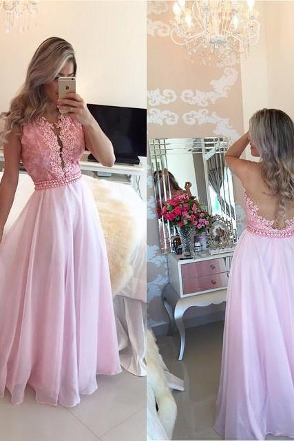 New Arrival A Line Prom Dress,Sexy Backless Evening Dress,Sexy Prom Dresses,Formal Gowns