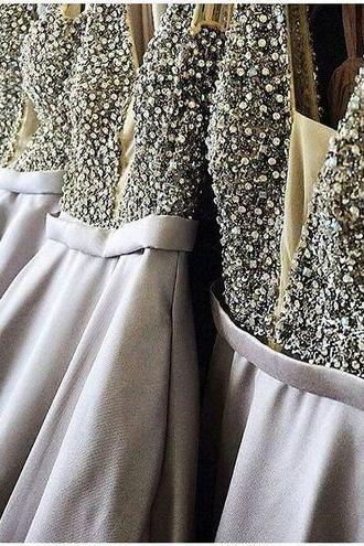 Hot Sale Prom Dress,V Neck Prom Dresses,Real Photo Prom Dress,Long Prom Dresses,Beads Evening Dress,Evening Dresses