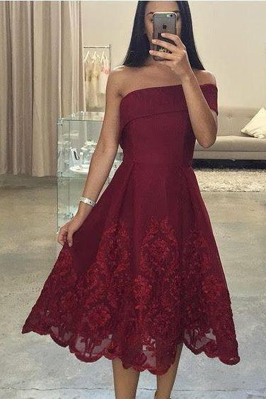 Sexy Short Prom Dress, Asymmetric Neck Prom Dresses, One Shoulder Prom Dress, Knee Length Prom Gown, Short Evening Dress, Short Formal Dress, Party Dress