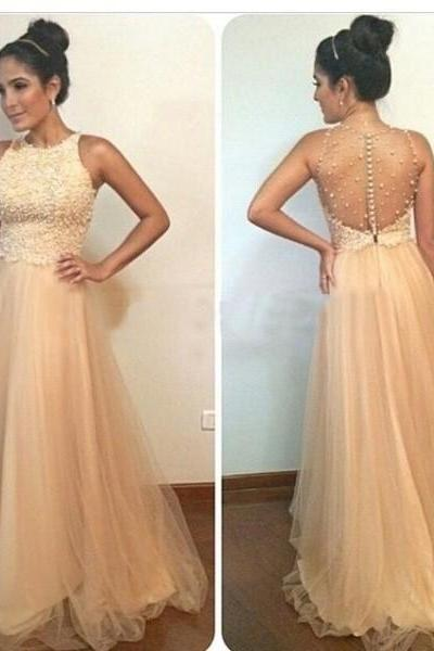 Prom Dress,New Arrival Long Prom Dress,Illison Back Evening Dress,Beaded Sexy Prom Dresses,Formal Gowns,Floor-length Prom Dresses,Wedding Guest Prom Gowns, Formal Occasion Dresses,Formal Dress