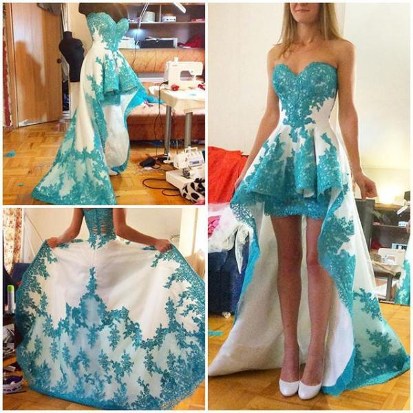 Prom Dress,Sexy High Low Prom Party Dress Evening Gown,Cheap Prom Dress,Formal Dress, Sexy Gril Dress, Floor-Length Prom Dresses, Evening Dresses, Custom Dress