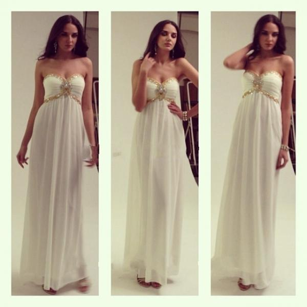 Sweetheart Crystal Beading Prom Dress,Long A Line Chiffon Prom Dresses Long Party Dress